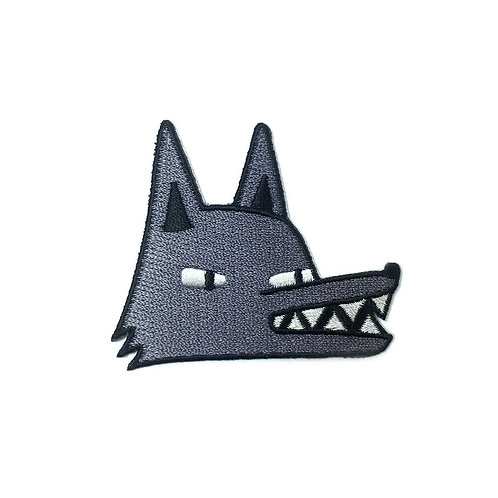 Tom Hardwick Embroidered Wolf Patch