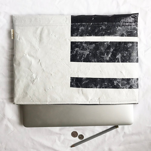 """Made by Kelly O, Upcycled 15"""" Laptop Sleeve"""