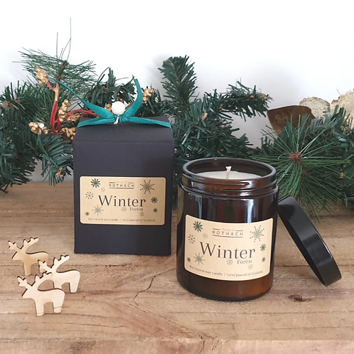 House of Rothach, Winter Forest Vegan Candle