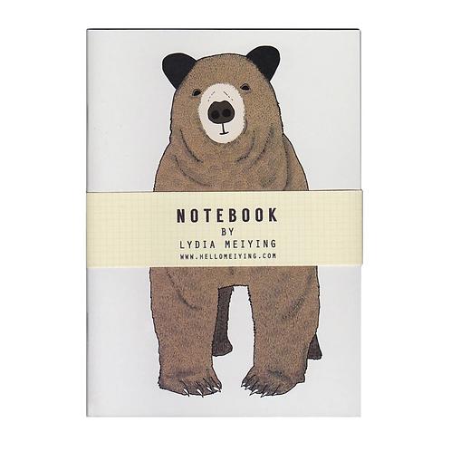 Lydia Meiying, Toby Bear A6 Notebook
