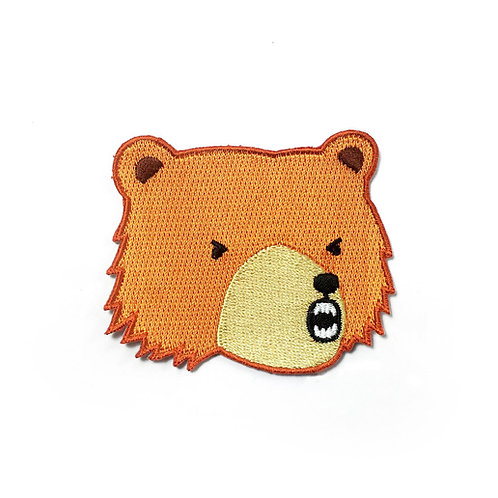 Tom Hardwick Embroidered Bear Patch