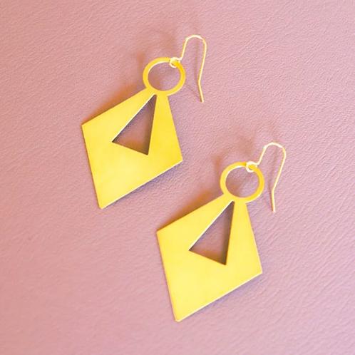 NMARRA, RALA Brass Earrings