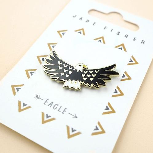 Jade Fisher, Eagle Totem Enamel Pin Badge