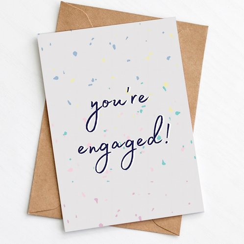 Greenwich Paper Studio, You're Engaged Greeting Card