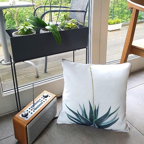 Cascayde Aloe Vera Print Cushion Cover, 45cmx45cm