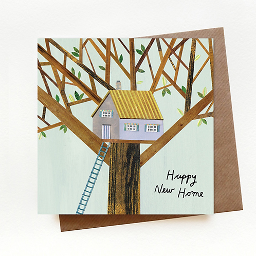 Paperwhale, New Home Greeting Card