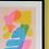 Thumbnail: Katy McCrossan Leaf Risograph Print, A3