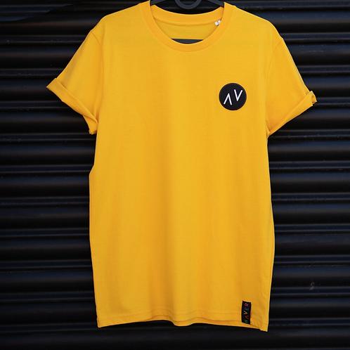 Haver, Organic Cotton T-Shirt, Mustard