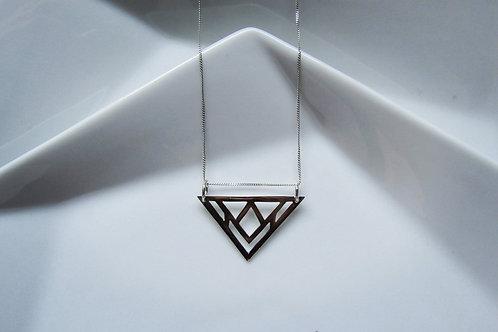 Pop Up Jewellery Ltd, Geo Triangle Necklace