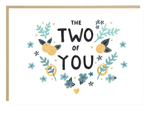 Jade Fisher, Two of You Greeting Card