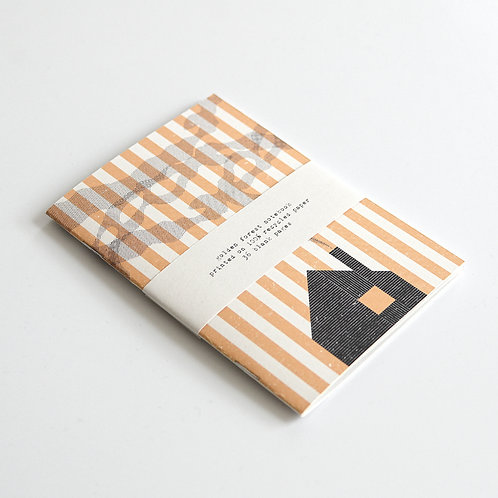 Luke Holcombe Studio, Golden Forest Notebook, A5,A6