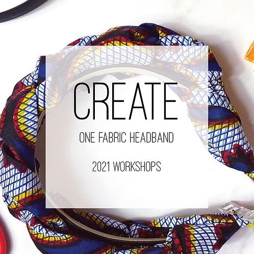 Headband Creative Workshop, Saturday 19th June