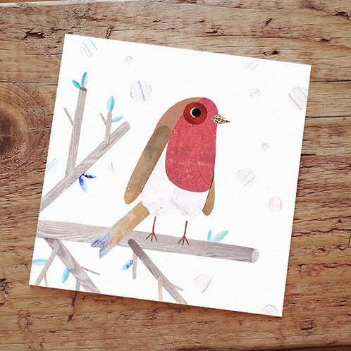 Paperwhale, Robin Greeting Card