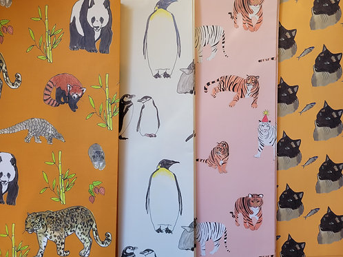 Kat Draws It, Illustrated Gift Wrapping Paper
