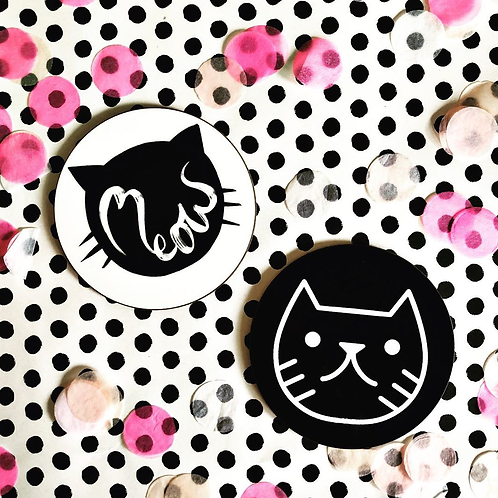 Sleepycats Gifts Cat Coaster