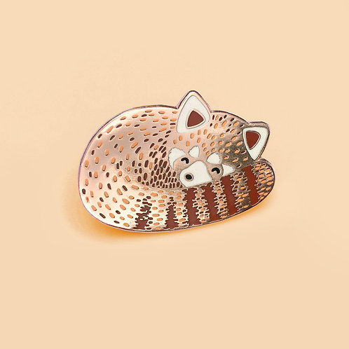 Tom Hardwick Red Panda Enamel Pin