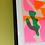 Thumbnail: Katy McCrossan Wiggle Risograph Print, A3