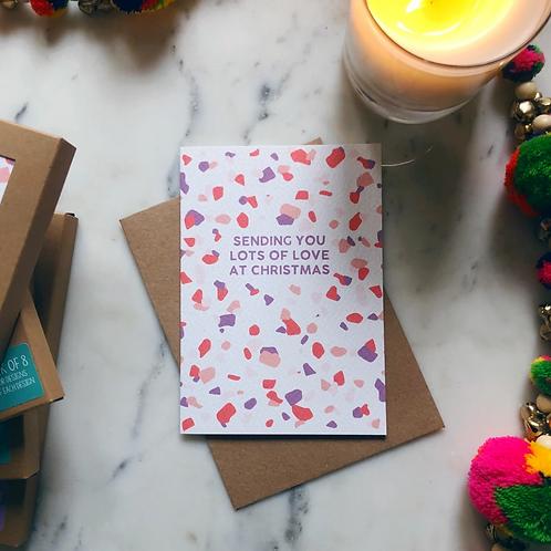 XOXO Designs by Ruth, Sending Love Greeting Card