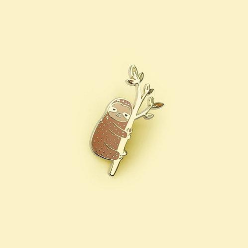 Tom Hardwick Sloth Enamel Pin