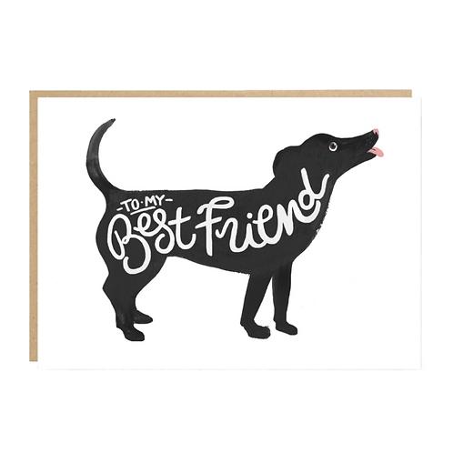 Jade Fisher, Best Friend Greeting Card