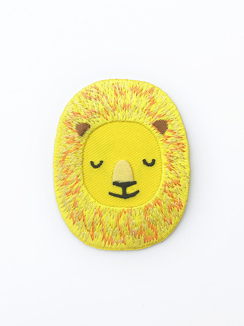 Tom Hardwick Embroidered Lion Patch