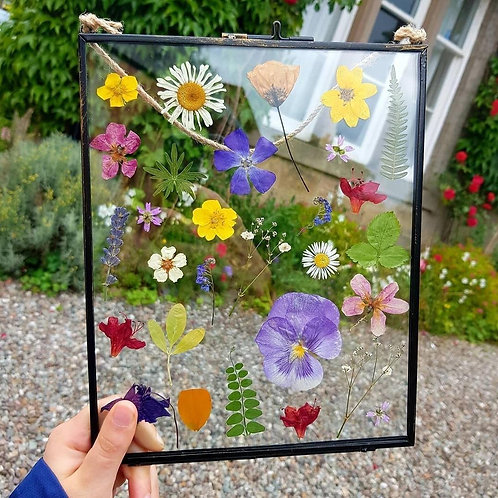 Flowers Afloat, Pick & Mix, Pressed Wildflower Frame