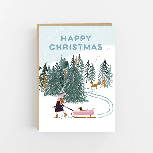 Lomond Paper Co, Happy Christmas Greeting Card
