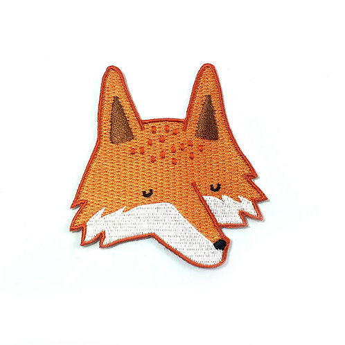 Tom Harwick Embroidered Fox Patch