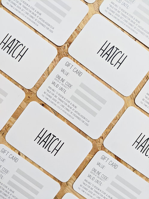Hatch Gift Card