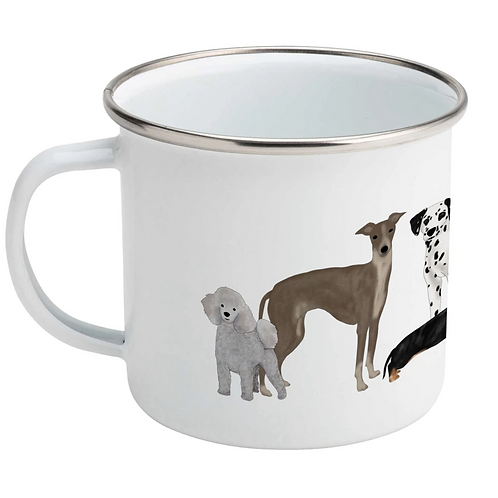 Lydia Meiying, Dog Design Enamel Mug