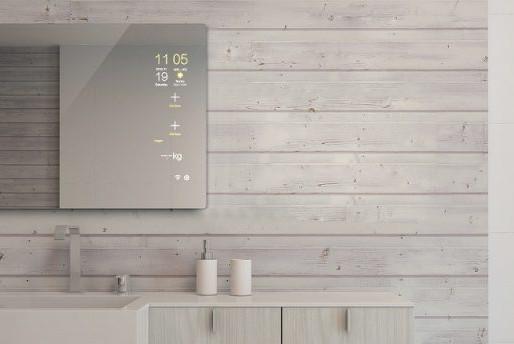 Mues-Tecs erstmalige Präsentation des brandneuen Touchscreen, Smart Spiegel und Küchen TVs