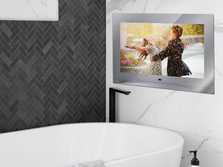 So machen Sie es sich in der Badewanne richtig gemütlich - inkl. bestem Bad TV Entertainment!