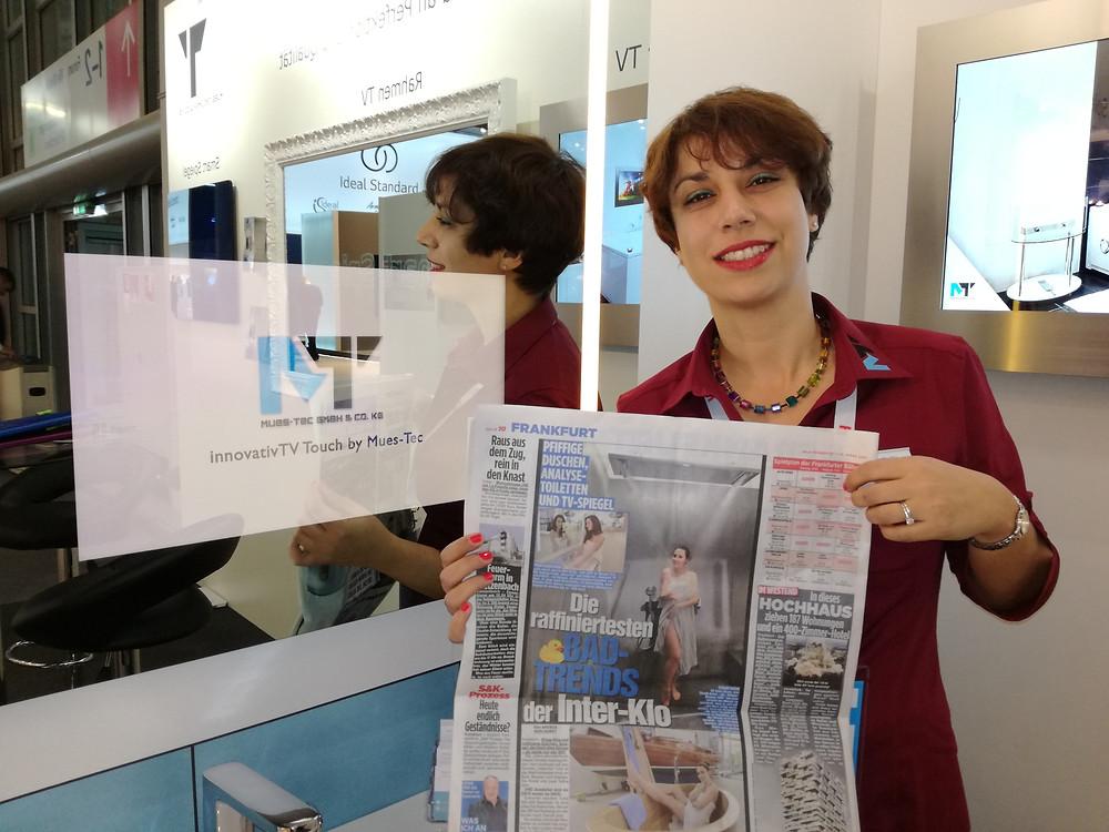 "Mues-Tec in famous german newspaper ""BILD"""