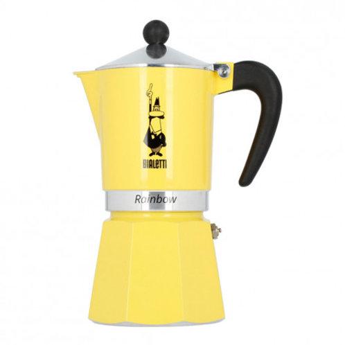 Bialetti Moka 6 Cup Yellow
