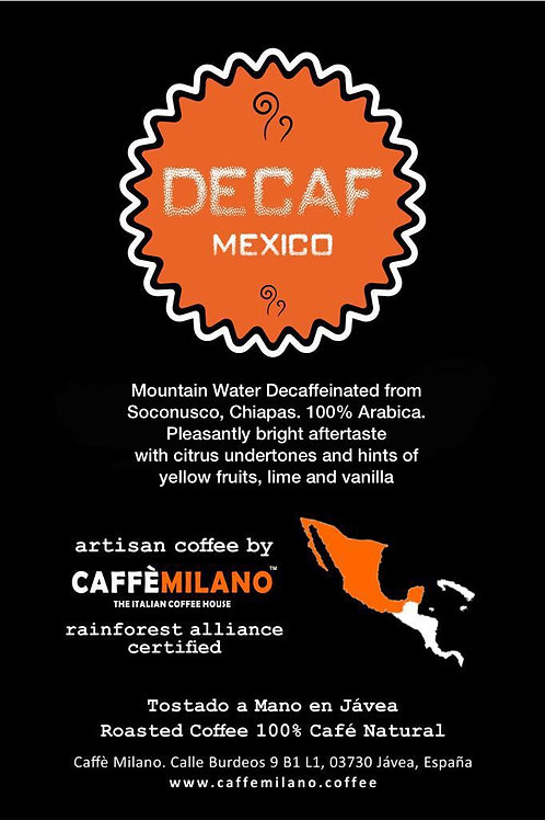 Decaffeinated Mexico Soconusco 500g