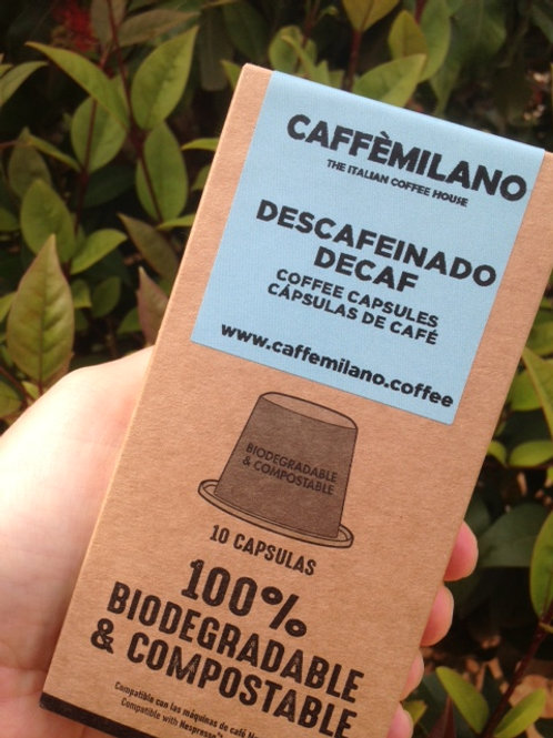 Compostable Decaf Coffee Capsules