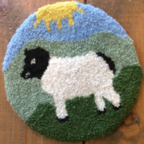 4'' Sheep Coaster