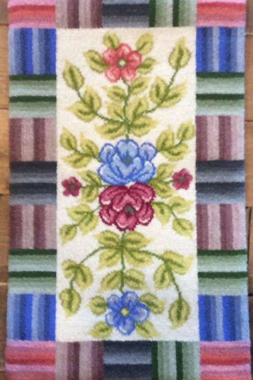 14.5''x 25''Geo/Floral