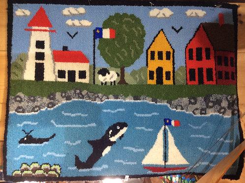 18''x 24'' Nautical Scene by Mom