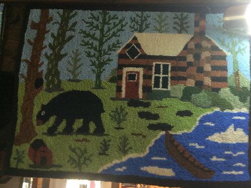 17''x 23.5''  Bear Cabin