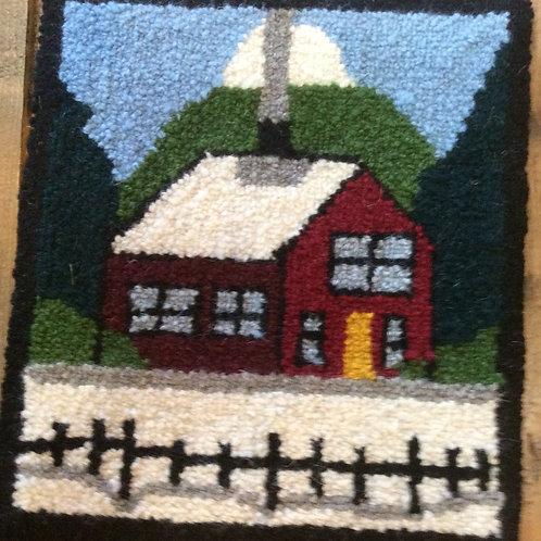 8.5''x9.5'' winter House