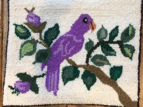 8.75''x11'' Purple Bird
