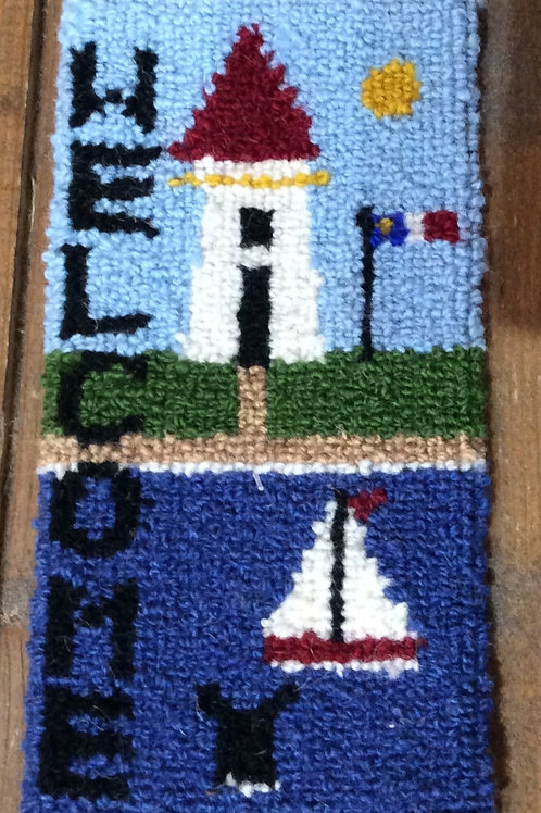 4''x 8'' Welcome Lighthouse