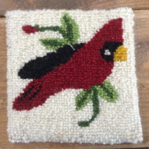 4'' Cardinal Bird