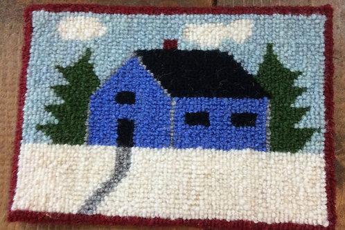 5''X 7''Winter House