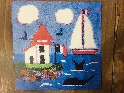 8''Sailboat/Lighthouse Kit