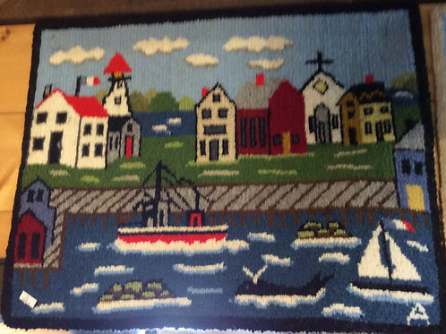 16''X 21''Mom's Fishing Village