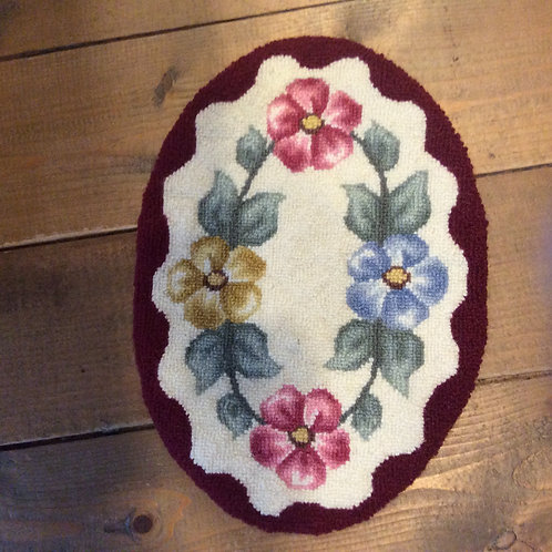 9''x 13'' Oval Floral