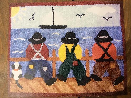 9x12'' 3 Fishermen Kit