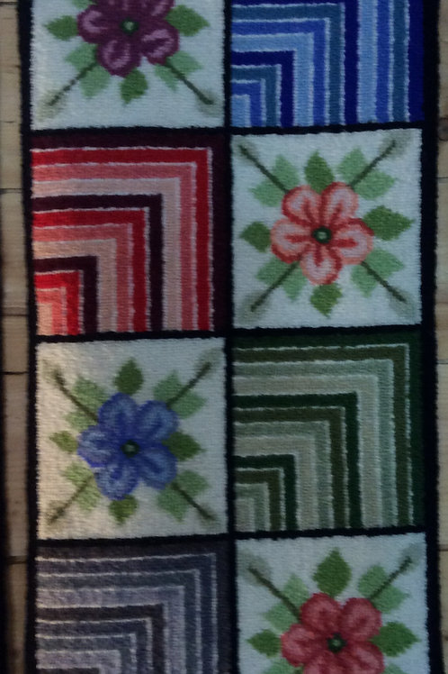 12''x24''Floral/Geometric